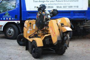 stump-grinder-arbortechnix-auckland-tree-services