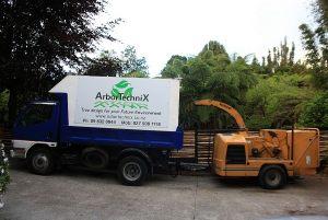 truck-chipper-arbortechnix-auckland-tree-services